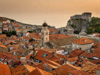 Croatian City of Dubrovnik